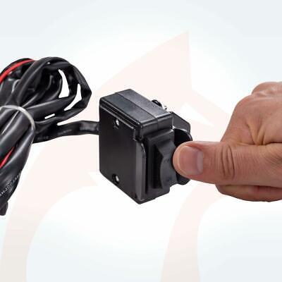 ROTFUCHS® Elektrische Seilwinde 12V 1360KG Elektrowinde Motorwinde Offroadwinde 10