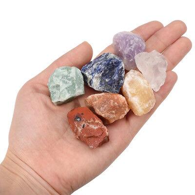 Chakra Gemstone Set Natural Rough Raw Rock Stone Specimen Crystal Healing Energy 3
