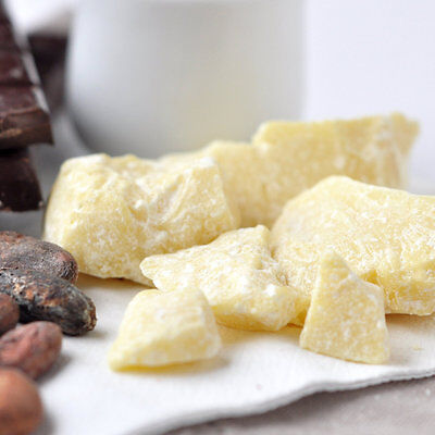 Cocoa Butter - Organic Unrefined Cacao 1kg - Pure Natural Raw for Food and Skin