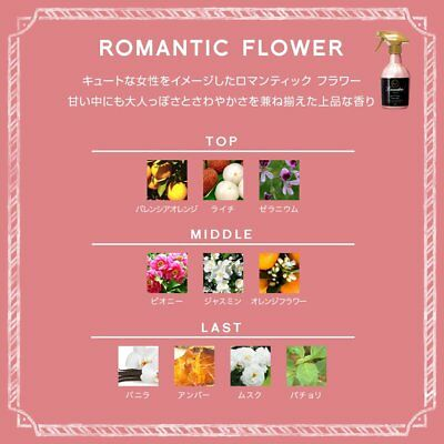 LAUNDRIN TOKYO Fabric Fragrance Mist 370ml - Elegant Floral 3