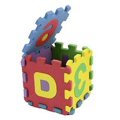 Tappetino Per Bambini in Schiuma Bubble alfanumerico 36 Numeri Lettere Bambini# 4
