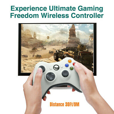 Wired / Wireless Game Controller Gamepad for Microsoft XBOX 360 & PC WIN 7 8 10 4