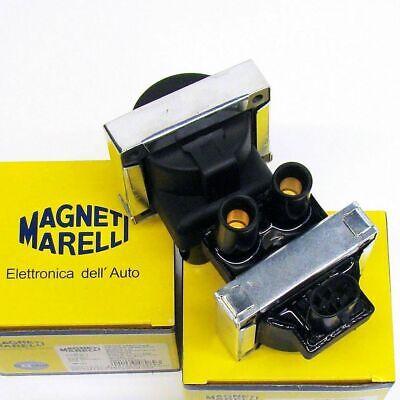 Kit 2 Bobina Magneti Marelli Fiat Punto 176 188 - 1.1 1.2 8V 1100 1200 Benzina 2