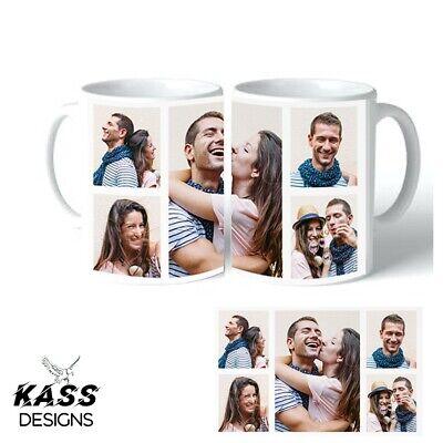 Personalised Mug Custom Collage Photo Mug Tea Coffee Cup Pictures Christmas Xmas 2