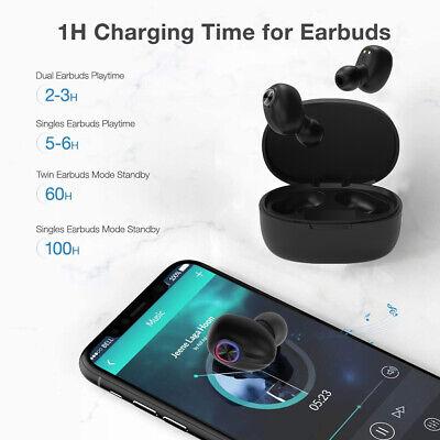 Bluetooth 5.0 Headset TWS Wireless Earphones Mini Earbuds Stereo Headphones IPX7 5