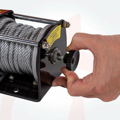 ROTFUCHS® Elektrische Seilwinde 12V 1360KG Elektrowinde Motorwinde Offroadwinde 7