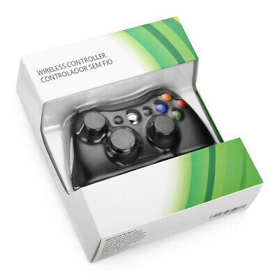 Wired / Wireless Game Controller Gamepad for Microsoft XBOX 360 & PC WIN 7 8 10 8