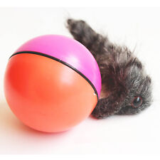 newcomdigi dtop Chien Chat Weasel motorisé drôle Rolling Ball Pet Toy Moving 4
