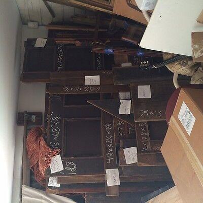 "Tiger Oak wood  Wainscot  Architectural  Antique raised  panel 77 "" X  67"" 9"