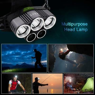 Super-bright 100000LM T6 LED Headlamp Headlight Torch Rechargeable Flashlight 11