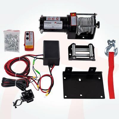 ROTFUCHS® Elektrische Seilwinde 12V 1360KG Elektrowinde Motorwinde Offroadwinde 5