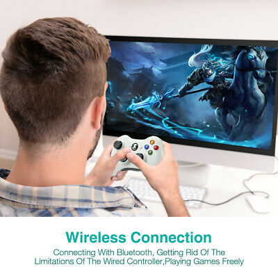 Wired / Wireless Game Controller Gamepad for Microsoft XBOX 360 & PC WIN 7 8 10 6