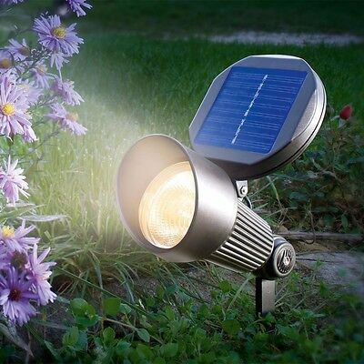 30LED Spotlight Solarstrahler Solarleuchte Außenlampe Gartenleuchte Gartenlampe