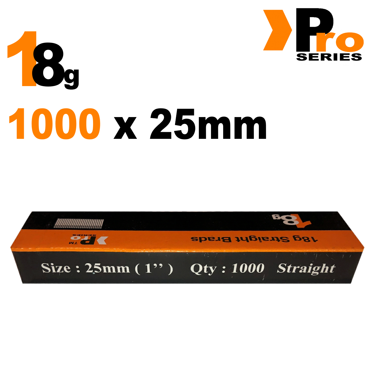 18 Gauge Brads: Sizes available 15mm - 50mm Brads ( 1000 Brad Handy Pack ) 4