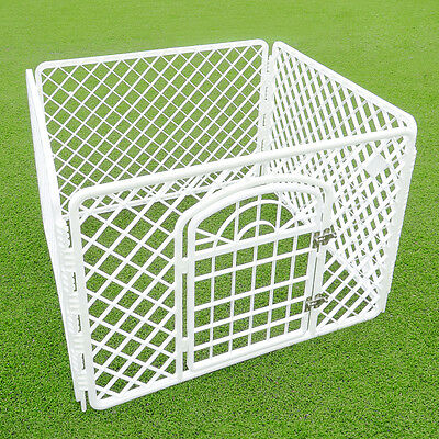 Portable Exercise Playpen Pet Dog Puppy Folding Fence Play Pen Kennel Crate Cage 2