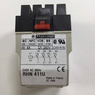 Schneider Electric RHN411U Plug-in relay Zelio New NFP 5