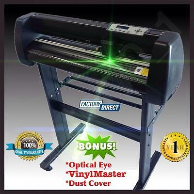 Vinyl Cutter Plotter Laser Optical Eye Craft Sign Maker Contour Cutting Pro KASA 2