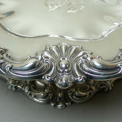 """Gorgeous American Redlich & Co Sterling Silver Large 10.5"""" Compote / Centerpiece 5"""