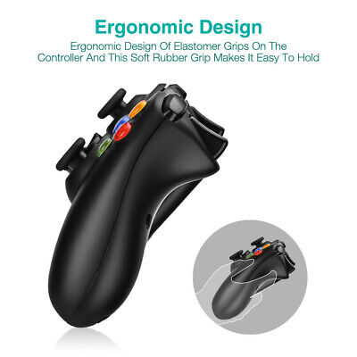 Wired / Wireless Game Controller Gamepad for Microsoft XBOX 360 & PC WIN 7 8 10 3