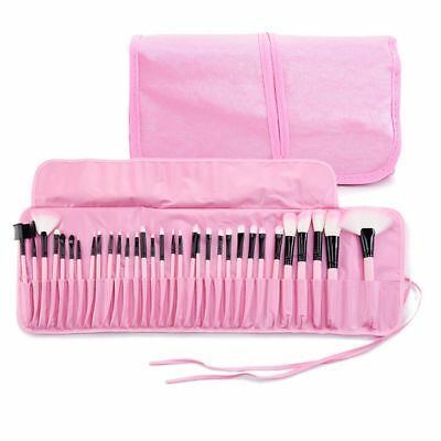 32pc Kabuki Professional Make Up Brush Set Blusher Foundation Face Powder Kit