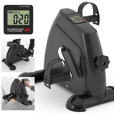 Mini Fitness Heimtrainer Fahrradtrainer Arm- und Beintrainer Bike Trimmrad LCD 2