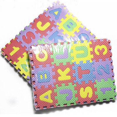 Tappetino Per Bambini in Schiuma Bubble alfanumerico 36 Numeri Lettere Bambini# 3