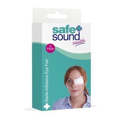 Safe + Sound Sterile Adhesive Eye Pad - 3 Pack
