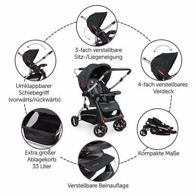 Froggy® Buggy Kinderwagen Sportwagen Kinder Wagen Shopper Jogger Kinderbuggy 7