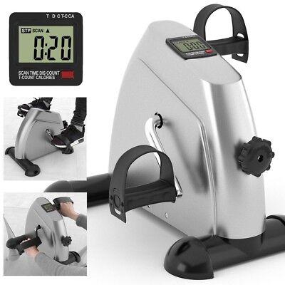 Mini Fitness Heimtrainer Fahrradtrainer Arm- und Beintrainer Bike Trimmrad LCD 6