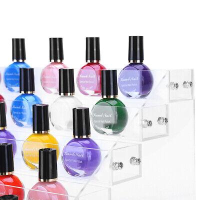 6 Layers Acrylic Nail Polish Rack Stand Holder Cosmetics Display  Organizer 10