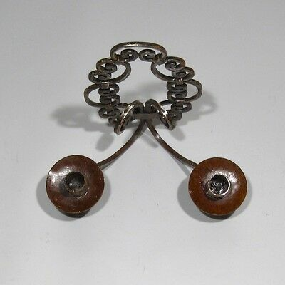 Vintage French Wrought Iron Sconce, 1920's 5 • CAD $99.54