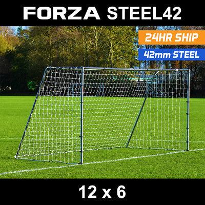 FORZA Football Goals - Locking, Match, Steel & Aluminium Goal [Net World Sports] 3