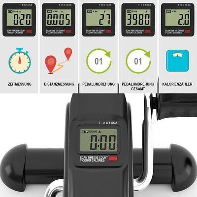 Mini Fitness Heimtrainer Fahrradtrainer Arm- und Beintrainer Bike Trimmrad LCD 3