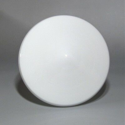Vintage French Art Deco White Glass Globe Ceiling Shade 4