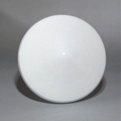 Vintage FrenchArt Deco White Glass Globe Ceiling Shade
