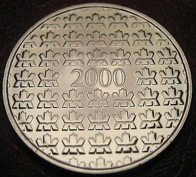RCM - 2000 - Map - Medallion - Nickel - Uncirculated