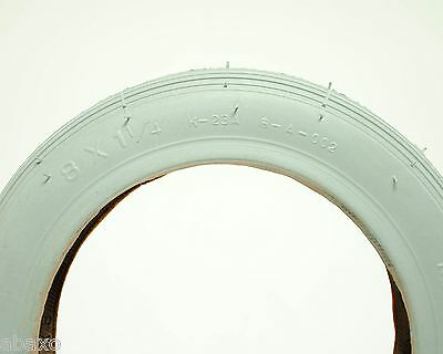 KENDA WHEELCHAIR TIRE GREY 8 x 1-1/4 NEW 137 mm 137mm