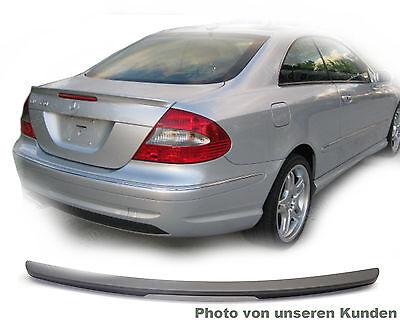 Mercedes clk c209 a209 209 coupe amg Schwarz 197 Abrisskante ABS hinten