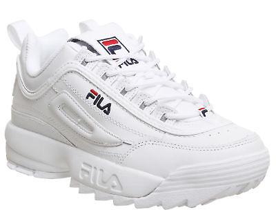 Women&Men Originale FILA Disruptor II 2 White Authentic Shoes Size EUR35--EUR45 2