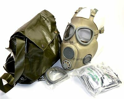 Czech Czechoslovakian army military Gas Mask M-10. New full set. CZ gas mask M10 2