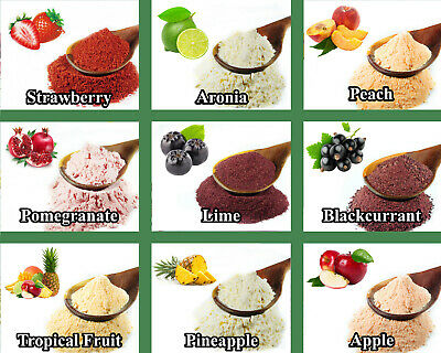 Dried Fruit & Vegetable Powders - Strawberry Cooking Shake Soup Smoothie ETC 3