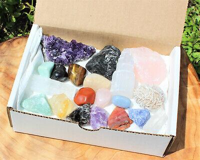 20 pcs Beginners Crystal Kit - Chakra Protection Healing Sets - Crystal Gift 3