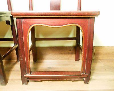 Antique Chinese High Back Chairs (Pair) (5767), Circa 1800-1849 9