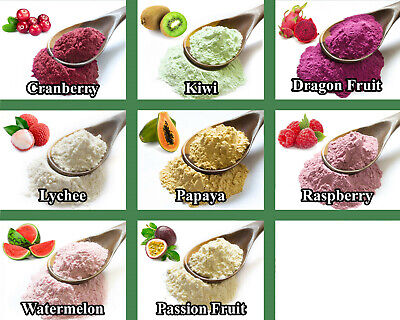 Dried Fruit & Vegetable Powders - Strawberry Cooking Shake Soup Smoothie ETC 8