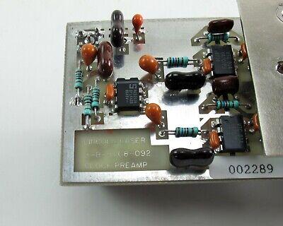 Hamamatsu H957-05 PMT Photomultiplier Tube, Housing, Lincoln Laser Clock Preamp 6