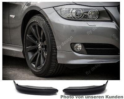 BMW E90 E91 2008-12 LCI Frontspoiler Spoiler Front splitter diffusor FLAP ANSATZ