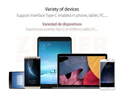 Adaptador OTG USB 3.1 a USB Tipo C [ Android - Xiaomi - MacBook Pro - Air ] 4
