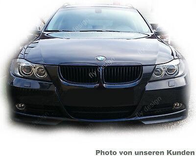 Frontansatz Frontspoiler Frontlippe Style für BMW Tuning E90 E91 2005 2006 07 08