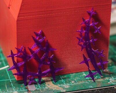 Jubilee Purple Fireworks 2 Pack EFFECTS ONLY Mezco, Marvel Legends 1/12 2