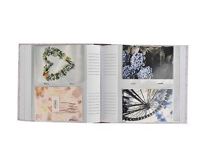 Photo Album Slip In Case Memo Photograph For 200 x 4 x 6'' picture, Purple 6
